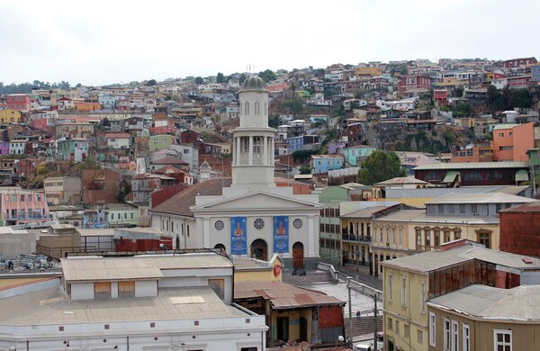 La Matriz de Valparaíso, The Network by Moraga
