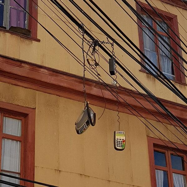 Almirante Riveros en Valparaíso, The Network by Moraga